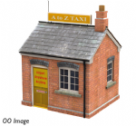 42-194 Bachmann Scenecraft Taxi Office 25mm x 22mm x 32mm